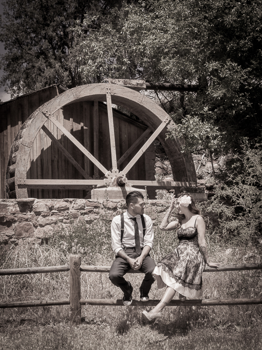 Crescent Moon Ranch Engagement Sedona Wedding Photography