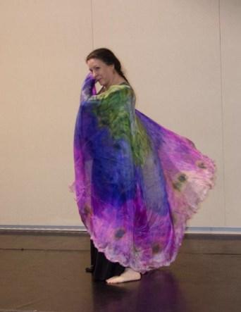 """""""Strawberry Fields"""" iris veil"""