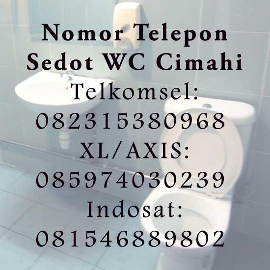 Nomor Telepon Sedot WC Cimahi