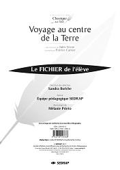 Voyage Au Centre De La Terre 5eme : voyage, centre, terre, VOYAGE, CENTRE, TERRE, FICHIER, Sedrap