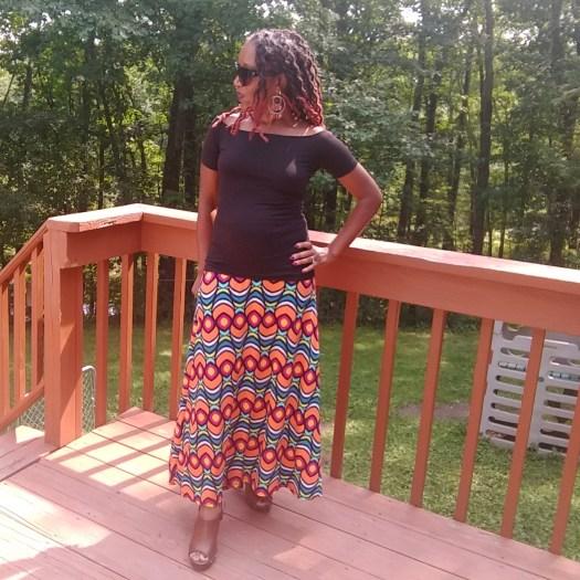 8 Fun Ways to Style a Lularoe Maxi Skirt | Sedruola Maruska