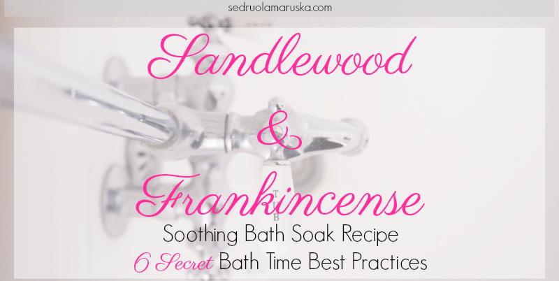 Sandlewood & Frankincense Soothing Bath Soak