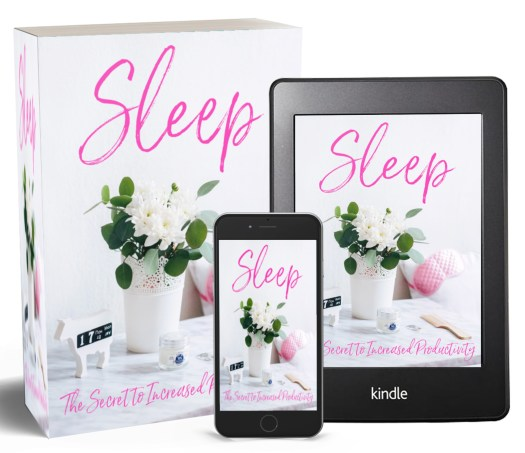 Sleep, The Secret to Increased Productivity | Sedruola Maruska