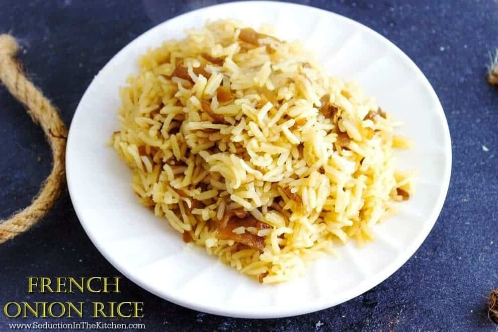 Campbell Kitchen Recipe French Onion Rice A Seduction In The Kitchen