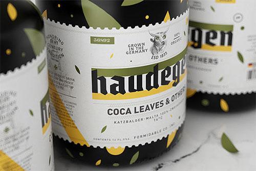 包裝設計啤酒標貼