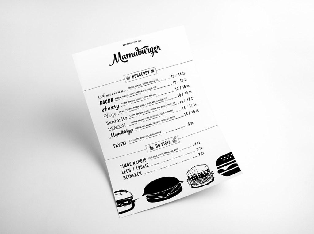 Mamaburger LOGO視覺形象設計