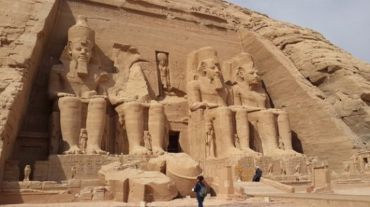 Familiar with Ramses II Statue Depicting Him as Child ...