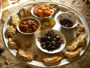 the food tray in Sudan