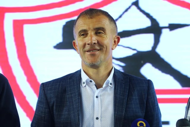 Zamalek's head coach Micho