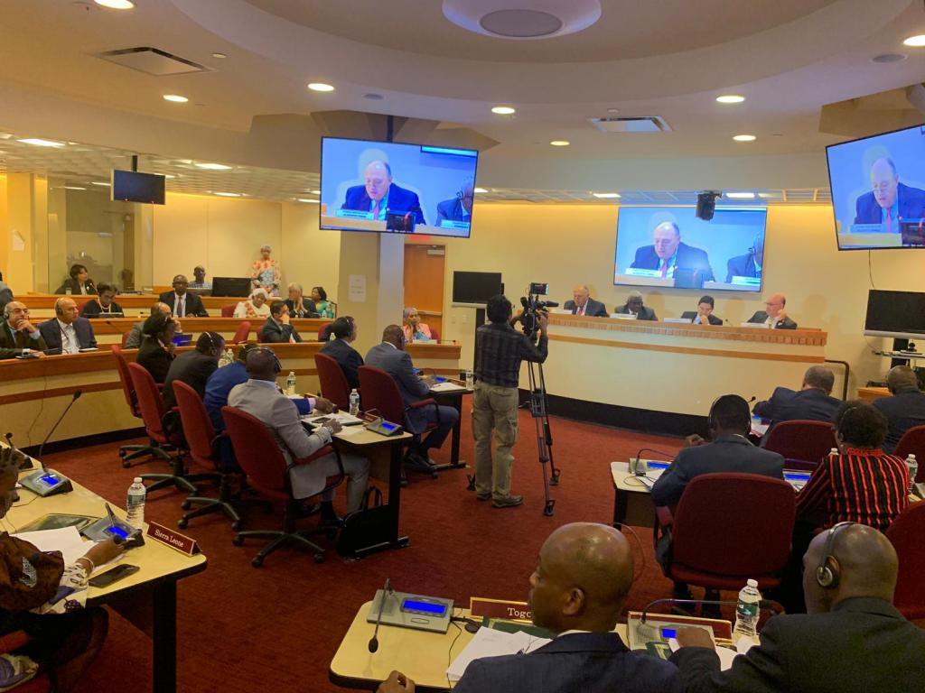 Foreign Minister Sameh Shoukry participated Friday in a meeting of the African Union's Peace and Security Council (AU-PSC) at the ministerial level- Press Photo