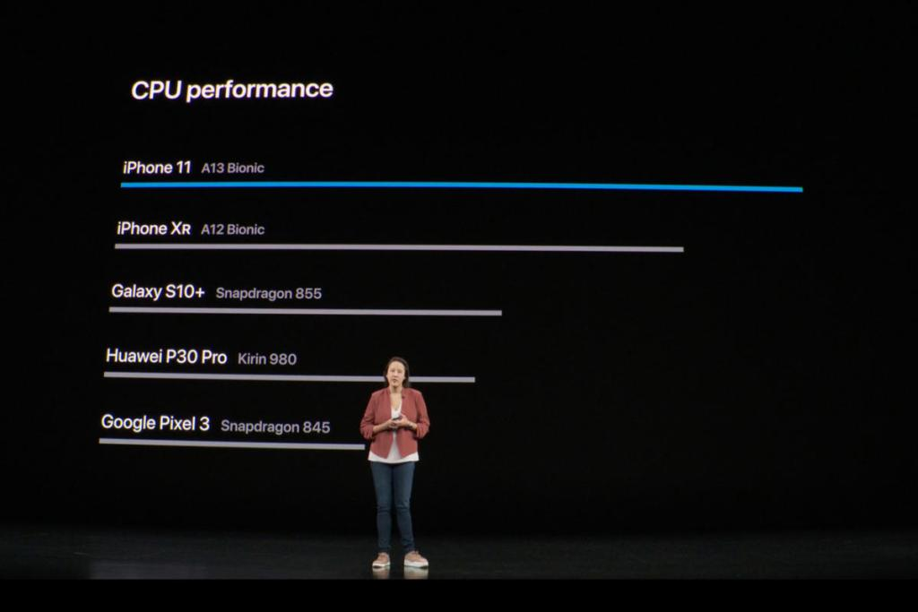 Apple claims a 20 percent performance improvement over the previous chip.