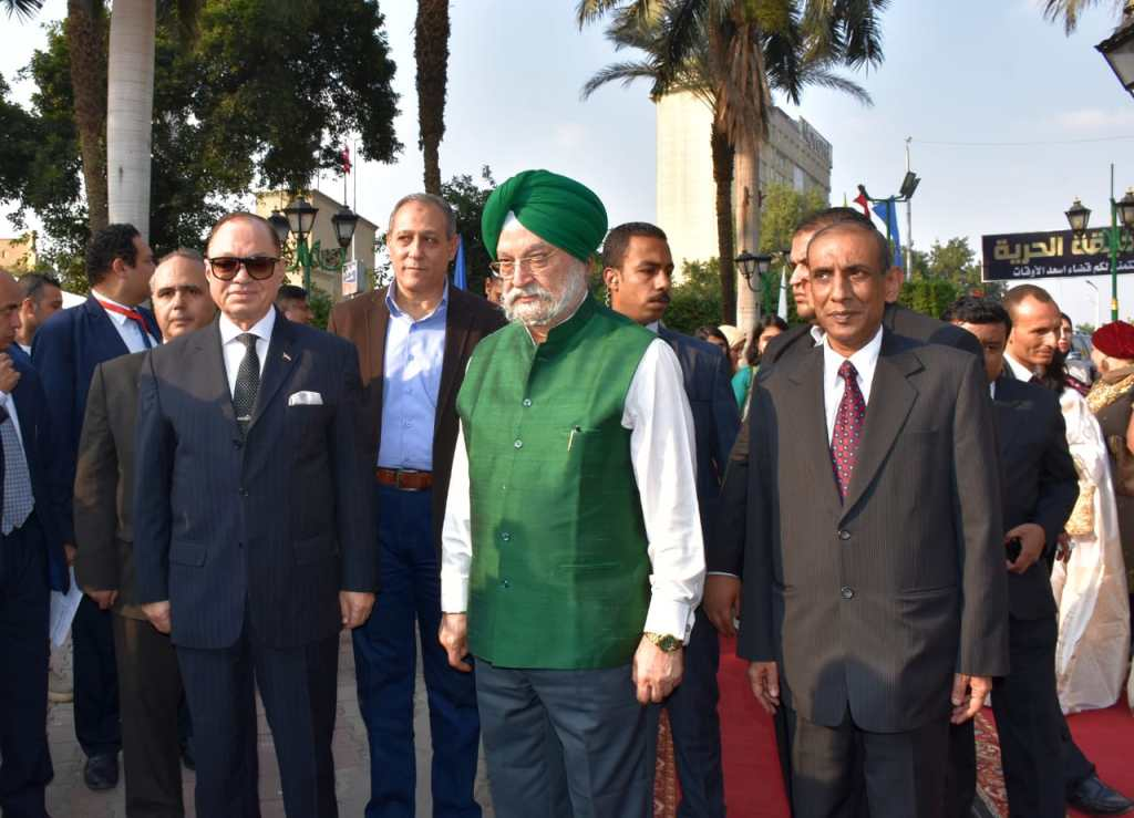 Hardeep Singh Puri, Cairo deputy governor and Indian Ambassador
