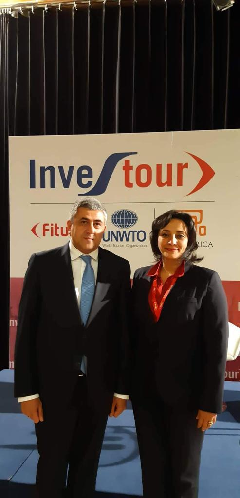 Shalaby with Zurab Pololikashvili of UN WTO at FITUR