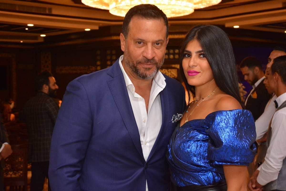 Maged El Masry and his wife, Rania Abouelnasr
