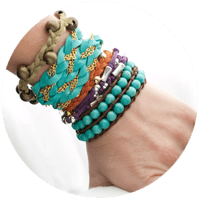 Bracelet Mania!!!:  DIY Leather Wrap Bracelets