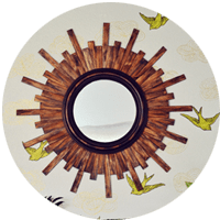 Mirror Mirror On the Wall: DIY Sunburst Mirror