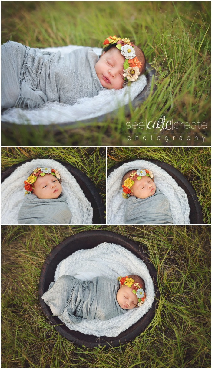 Floral Crown Newborn
