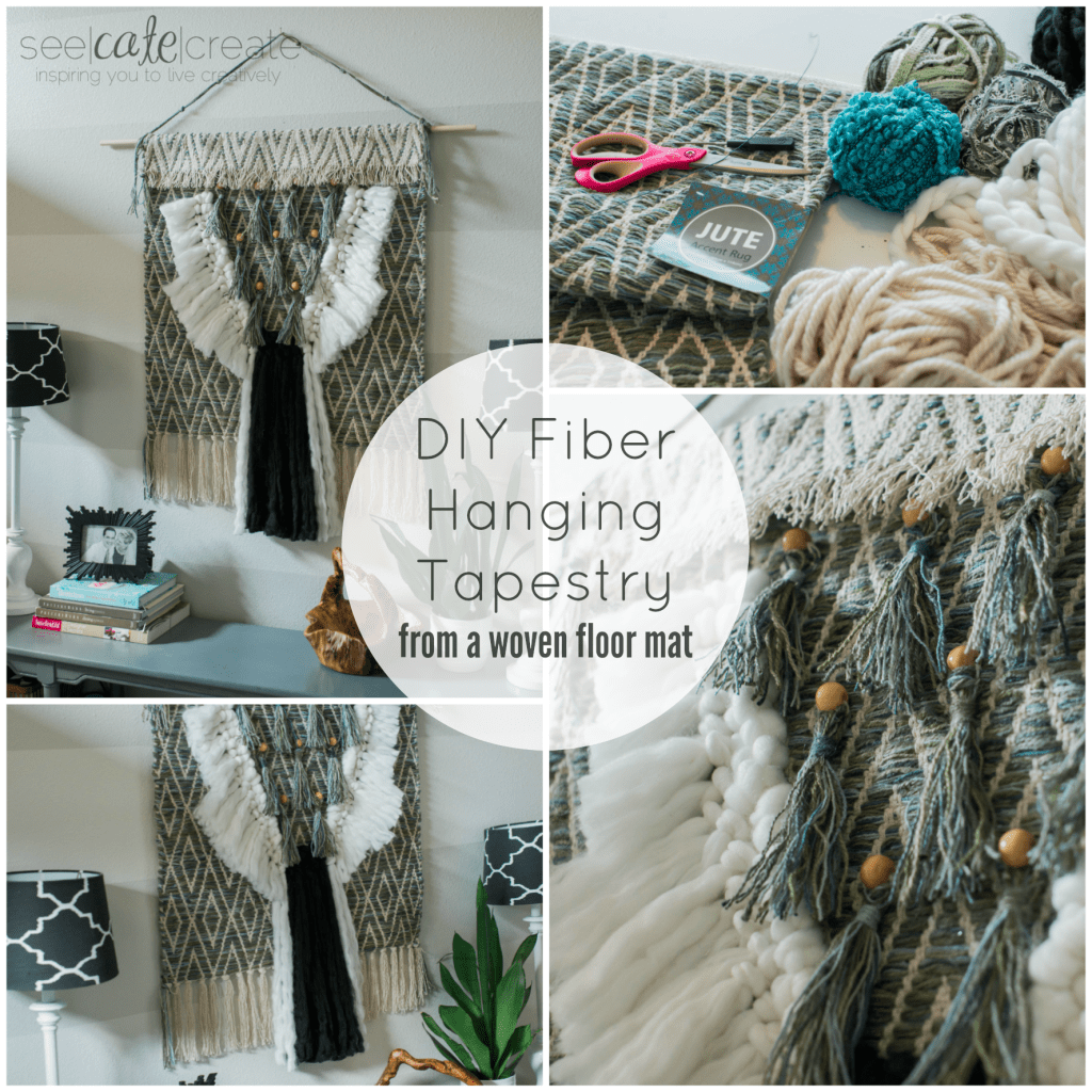 DIY Fiber Art Tapestry From a Rug