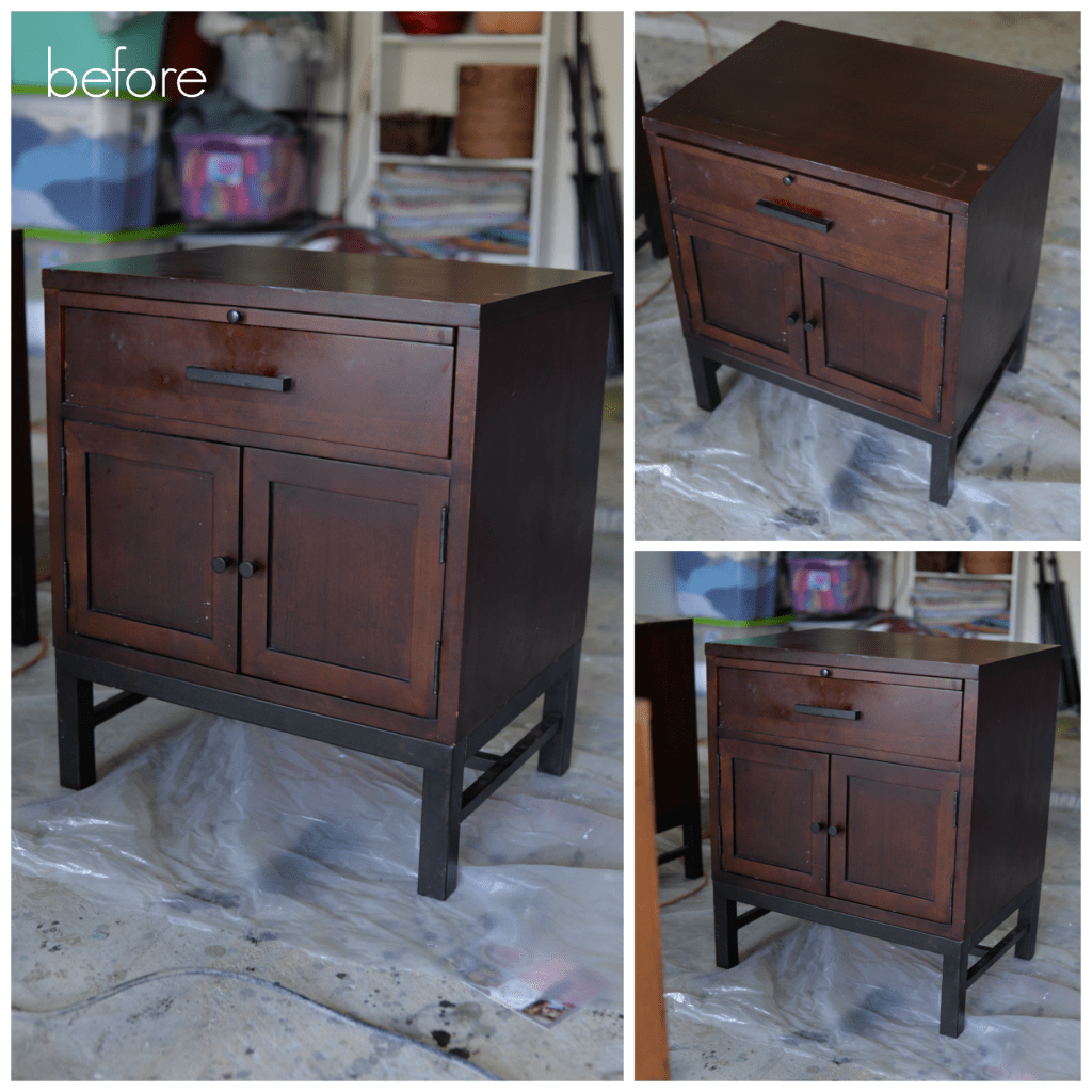 nightstands refinish 1