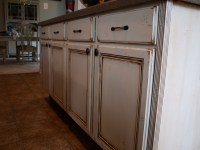 How to Paint and Antique Kitchen Cabinets (my way ...