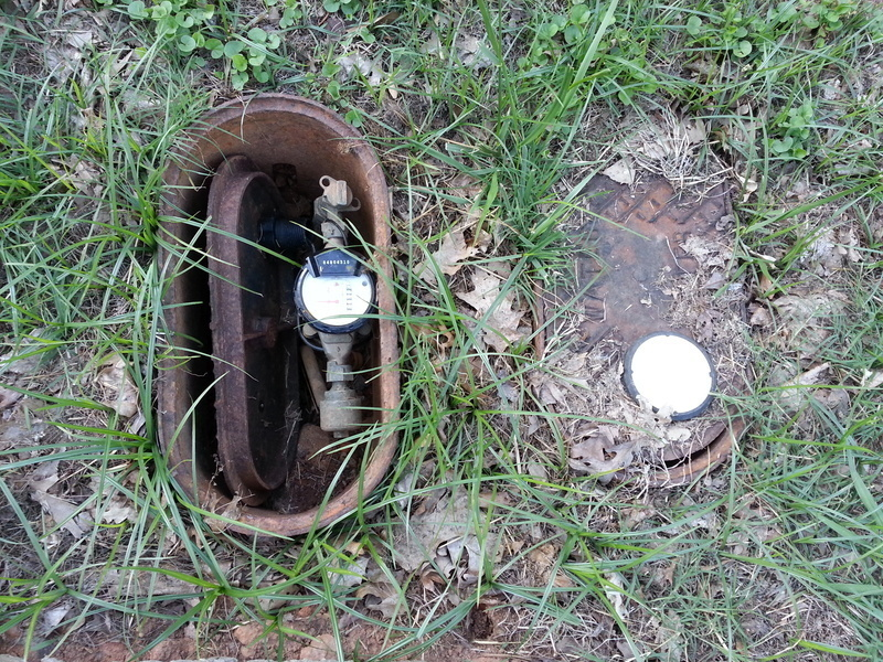Water Meter Cover Off  Issue 1102220  Northwest Raleigh NC  SeeClickFix  Web and Mobile
