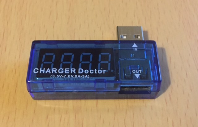 GearBestの激安USB電流電圧チェッカーをレビュー!Amazonでも売っていた…