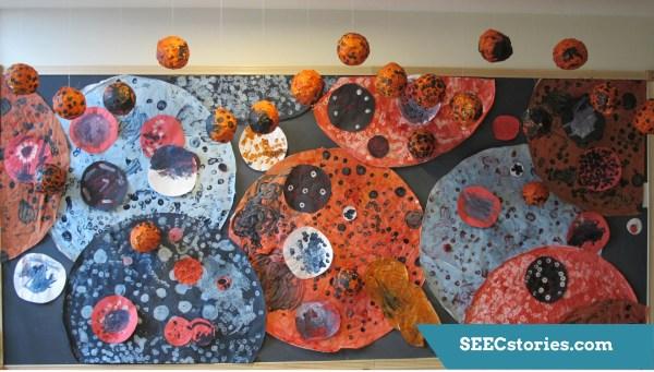 Teacher Feature Preschool Art Explores Yayoi Kusama Seec Ciel