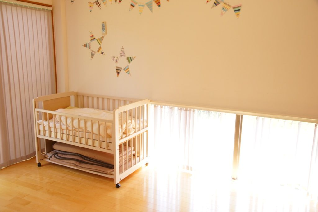 赤ちゃんの撮影