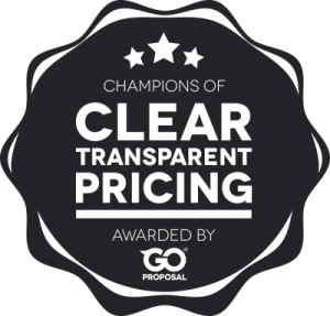 Clear and transparent pricing GoProposal