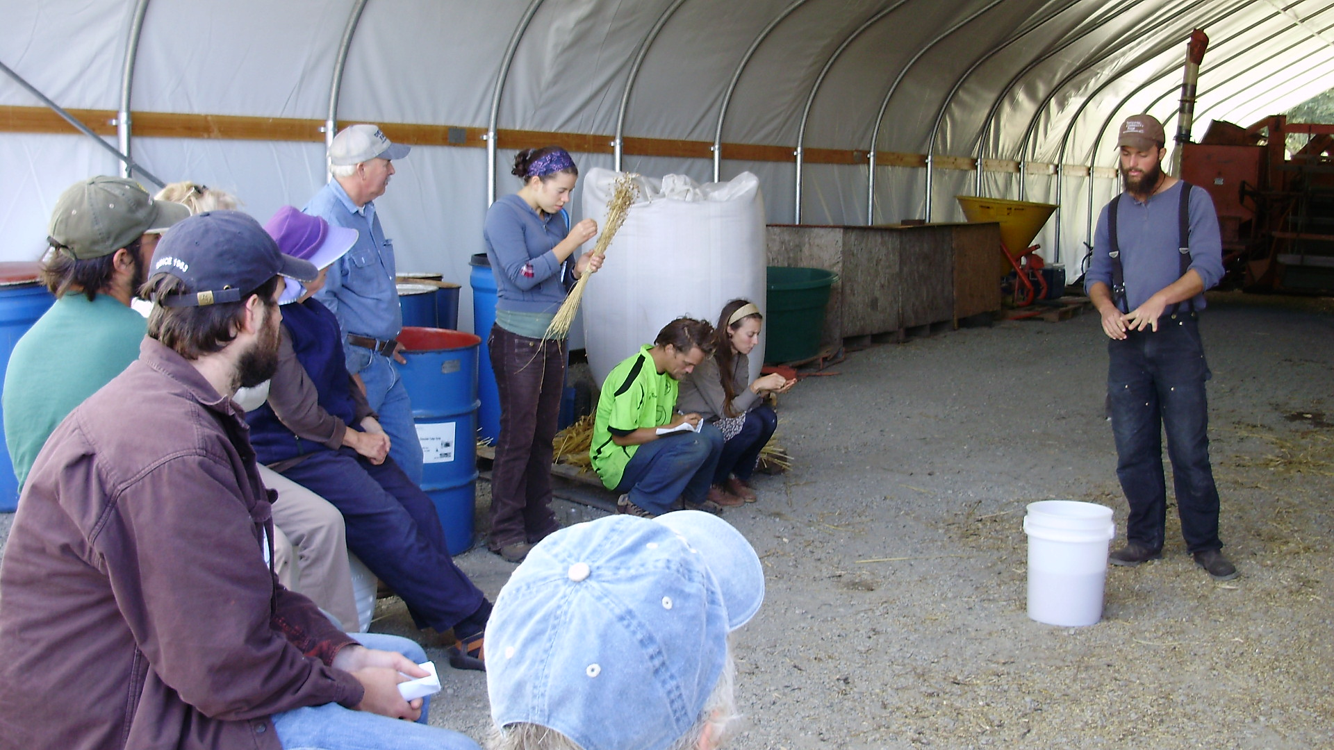 Report From Osa S Grain Amp Seed Field Day In Humboldt
