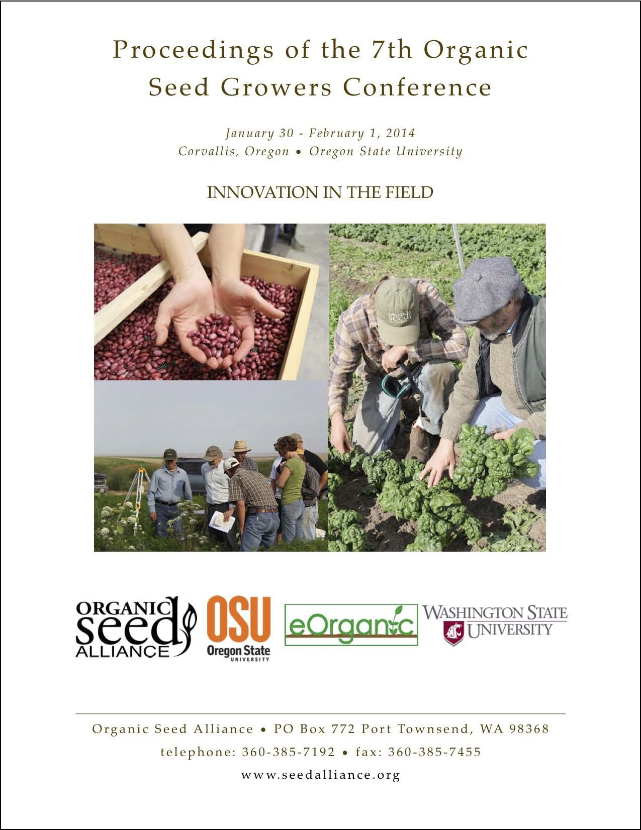 Proceedings From The 7th Organic Seed Growers Conference