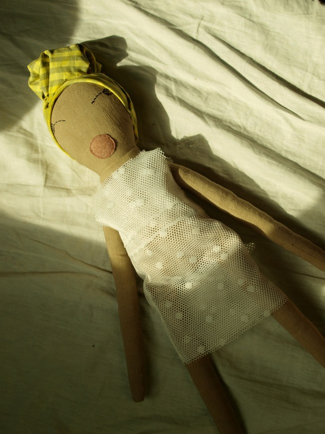 A Spring-Inspired Doll