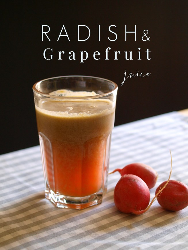 radish grapefruit juice