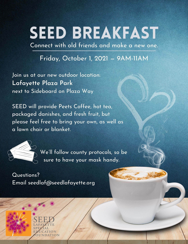 SEED Breakfast - October 1, 2021