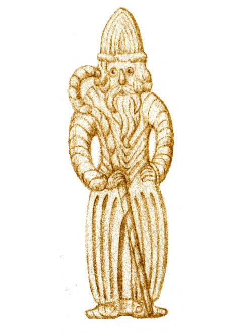 biscuit speculoos en forme de saint nicolas