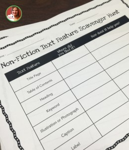 non-fiction text comprehension activities