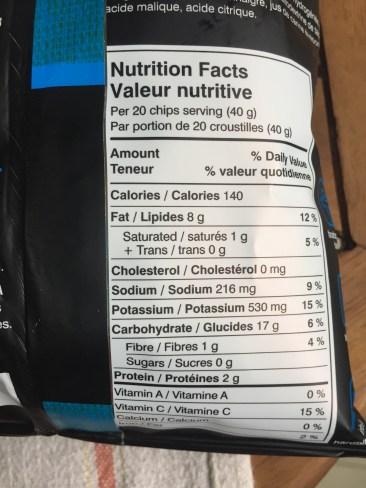 Hardbite Rock Salt and Vinegar Potato Chips
