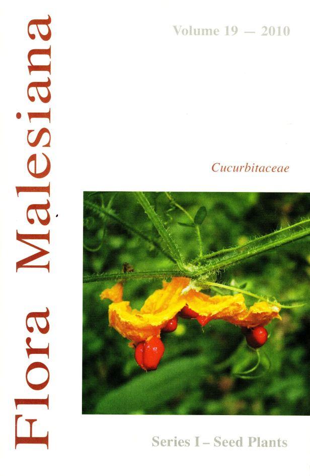 CUCURBITACEAE Flora malesiana