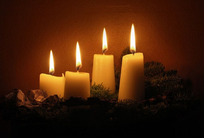 advent candle lighting afm salesian