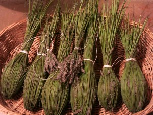 Lavender 'wand' to scent rooms and closets