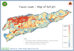 Soil pH map