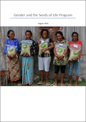 Gender report cover