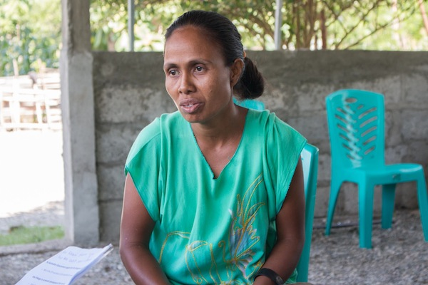 Isabel Pereira, Chief of CSP Lacabasi © Yessy Betty/Seeds of Life