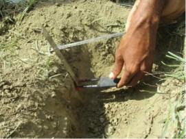 measuring soil moisture