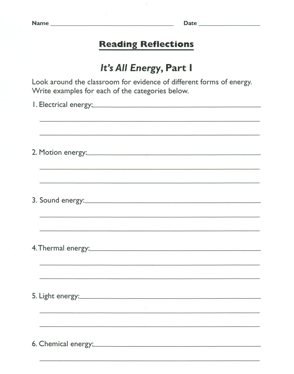 medium resolution of Forms of Energy: Everyday Examples to Help Students    seedsofsciencerootsofreading