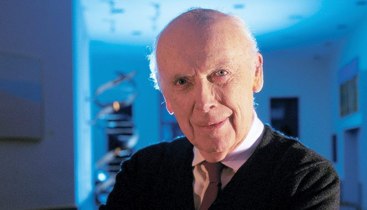 Nobel laureate James Watson, chancellor, Cold Spring Harbor Laboratory.