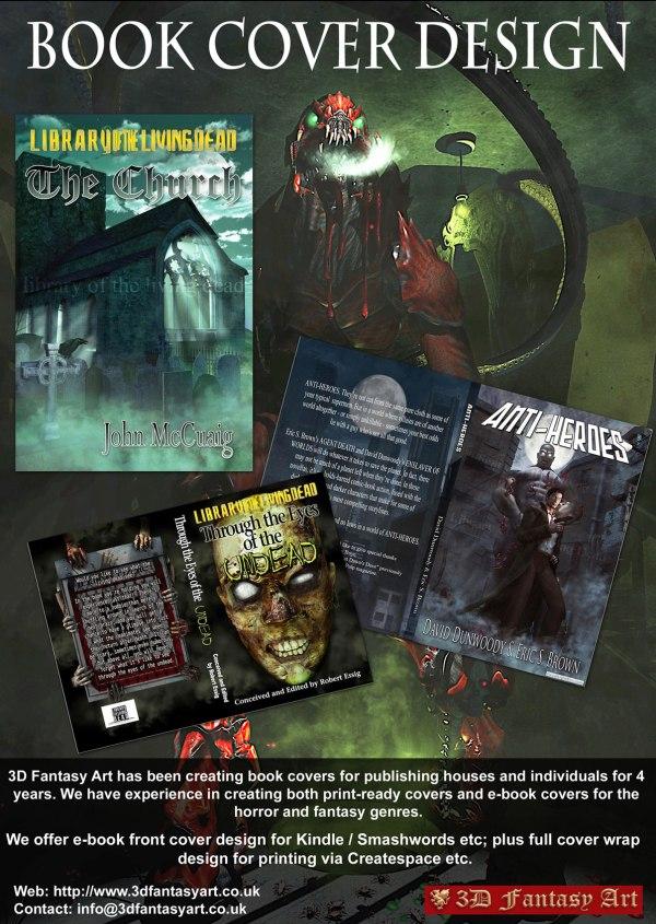 Custom Book Cover Design 3d Fantasy Art