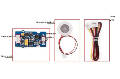 small resolution of transducer interface connect ultrasonic transducer to with driver board grove wire connect main control board with driver board