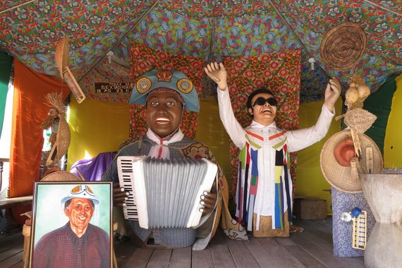 carnaval puppets