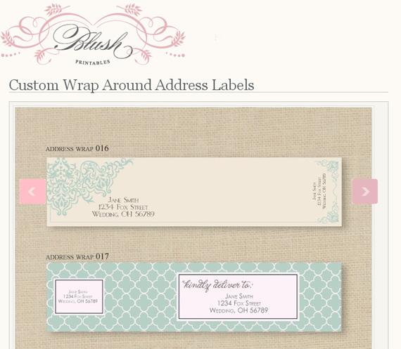 loving wrap around address labels seeing design. Black Bedroom Furniture Sets. Home Design Ideas
